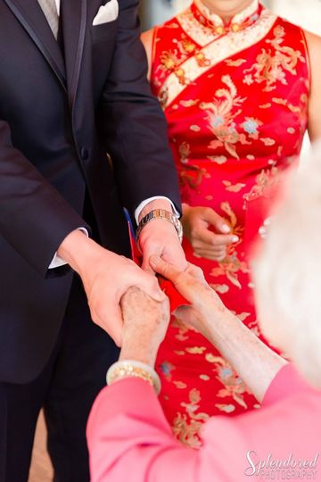 Chinese wedding ceremony