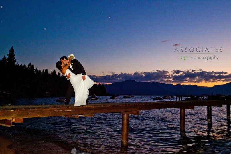 Beach & Cruise Wedding in Lake Tahoe aboard the Bleu Wave
