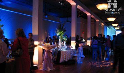 Castle Event Lighting