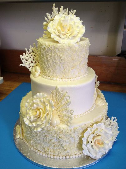 Charles Street Bakery - Wedding Cake - La Plata, MD - WeddingWire