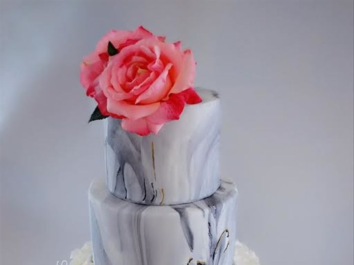 Tmx 1515023572851 Marble Wedding Cake Lynn, Massachusetts wedding cake