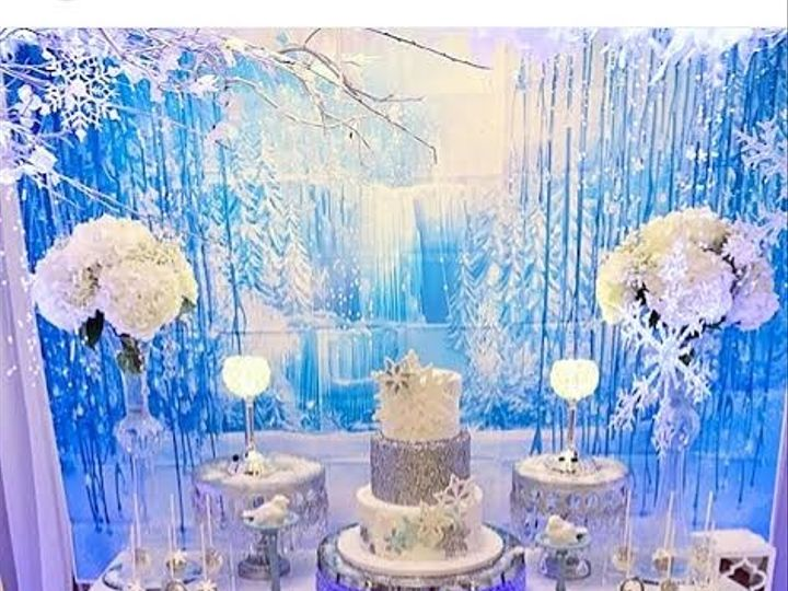Tmx 1515023612702 Winter Wonderland Sweets Table 5 Lynn, Massachusetts wedding cake