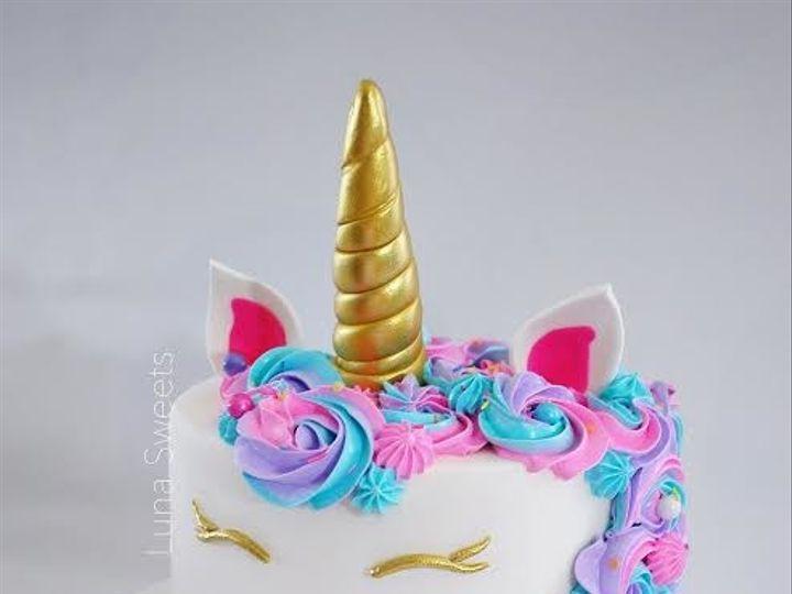 Tmx 1515023657387 Unicorn Cake 2 Lynn, Massachusetts wedding cake