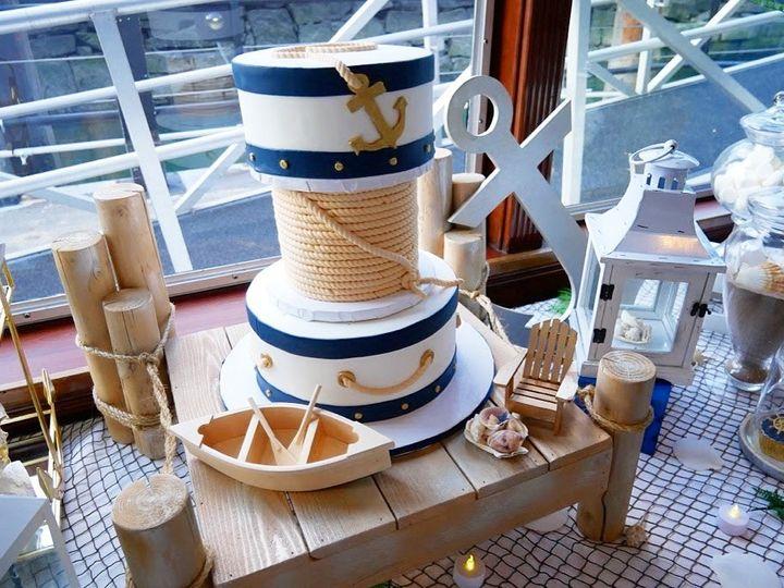 Tmx 1515023932813 Img6023 Lynn, Massachusetts wedding cake