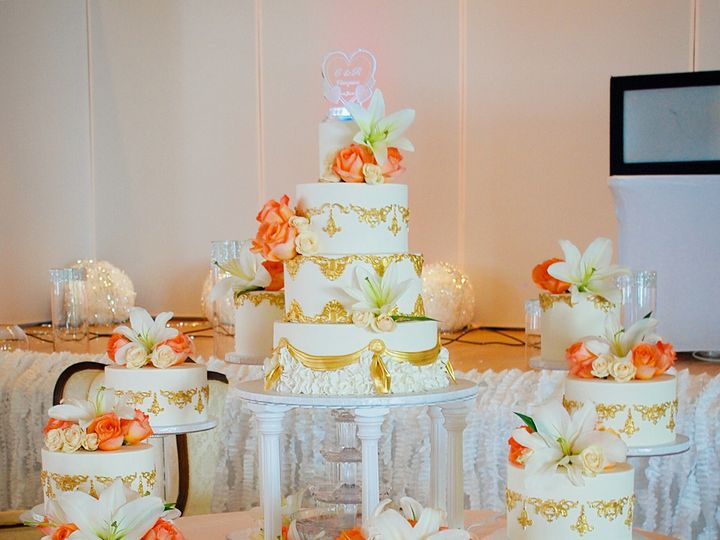 Tmx 1515024143593 Img5626 Lynn, Massachusetts wedding cake