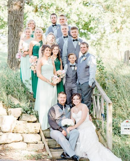 Wedding party | Krista Paige Photography