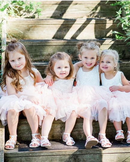 Flower girls | Krista Paige Photography
