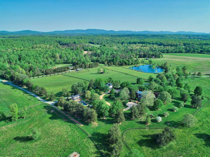 A historic virginia estate with over 550 acres.