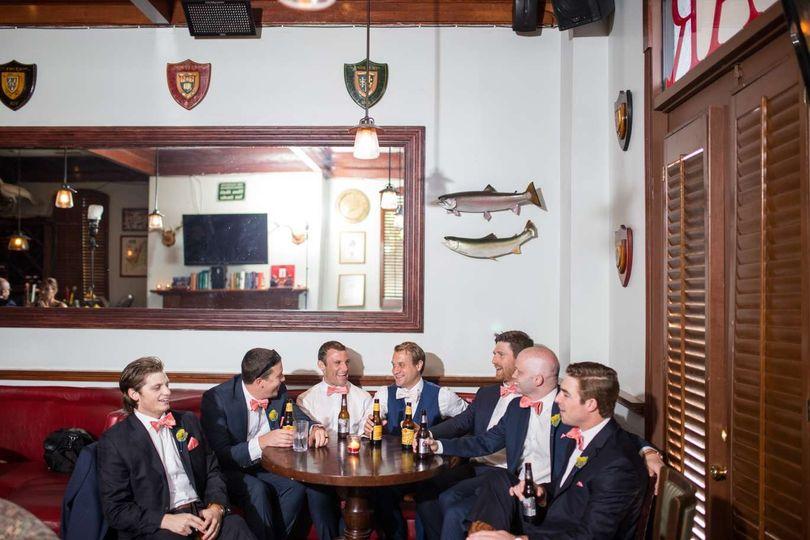 A drink among men