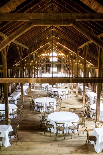 View from the third floor Grooms loft