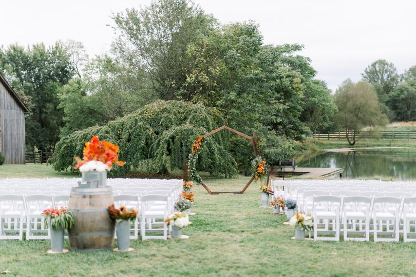 Pond Overlook Ceremony