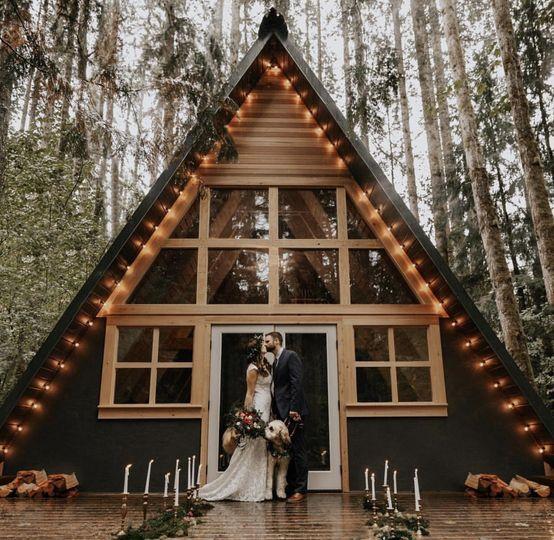 Woodsy elopement