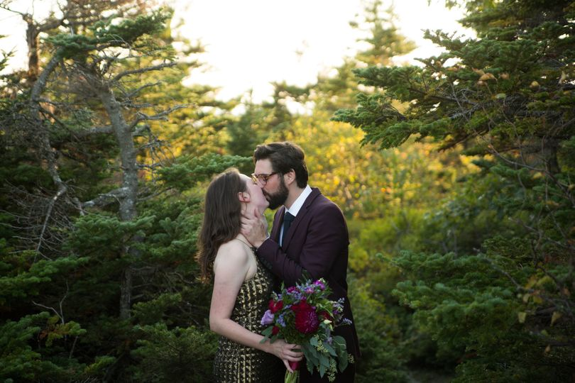An elopement in Bar Harbor, ME