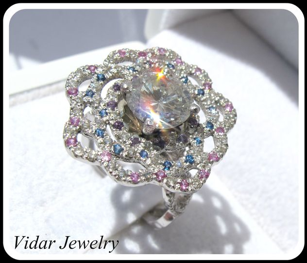 1 4ct diamond platinum ring