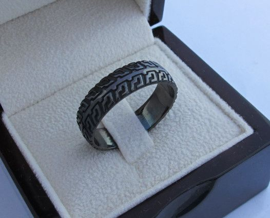 Tmx 1428943921918 Blackgoldtiretreadring Beverly Hills, CA wedding jewelry
