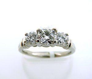 Tmx 1358534974086 3stoneplatrng1300 Catonsville wedding jewelry