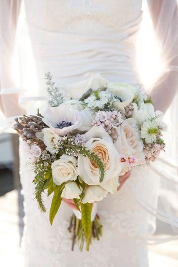 A stunning flower bouquet