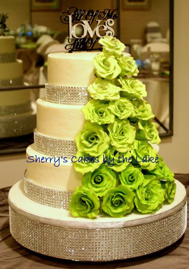 Sherry\'s Cakes by the Lake - Wedding Cake - Sanbornville, NH ...