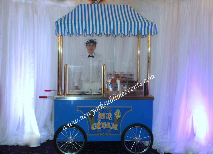 Ice Cream Sundae Bar rental, an irresistible treat at any event. Call: 718-744-8995
