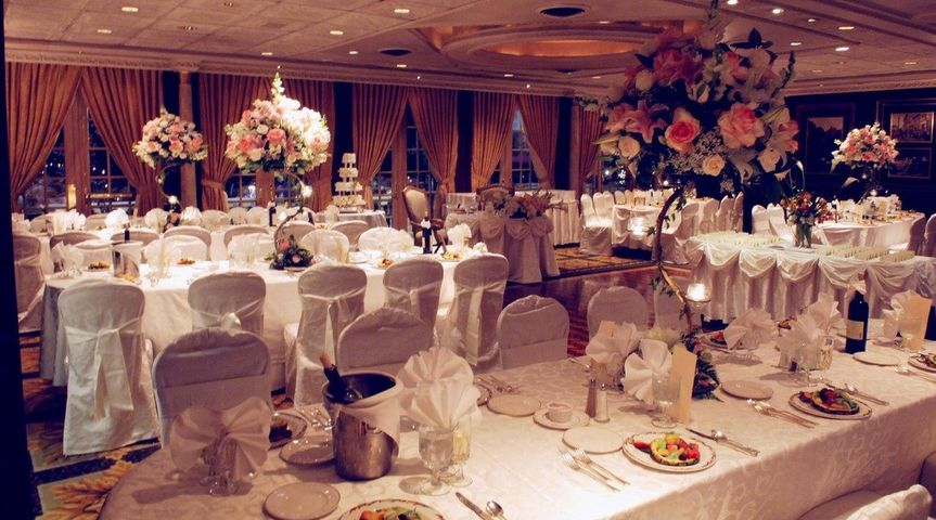 Our stylish table linen, chair covers and sashes will embellish your event.