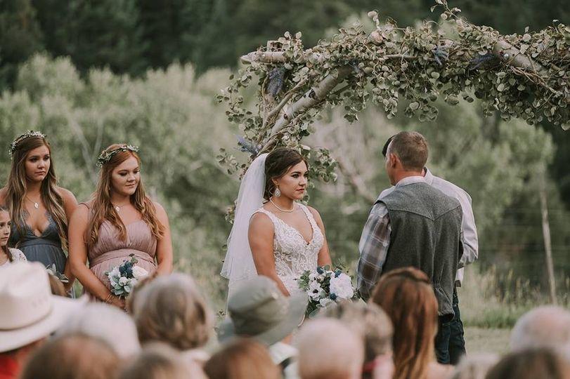 Ceremony Aspen Arch