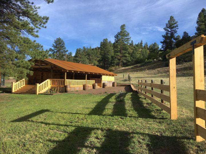 Paradise Ranch pavilion
