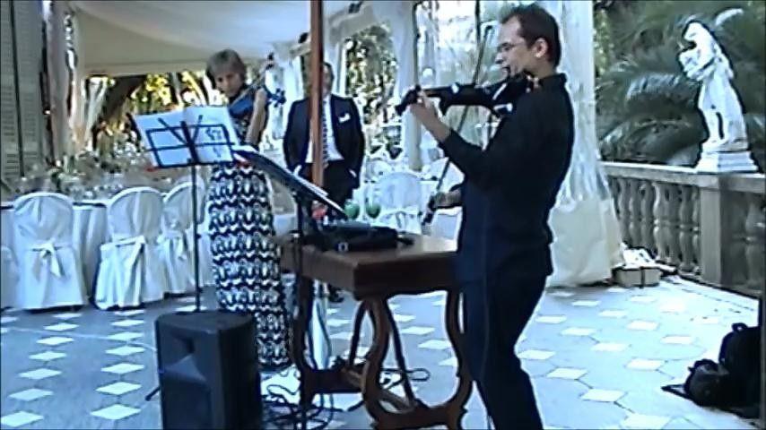 jazz con 2 violini elettrici