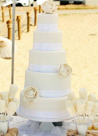 Frosted Cakery - Wedding Cake - Fresno, CA - WeddingWire