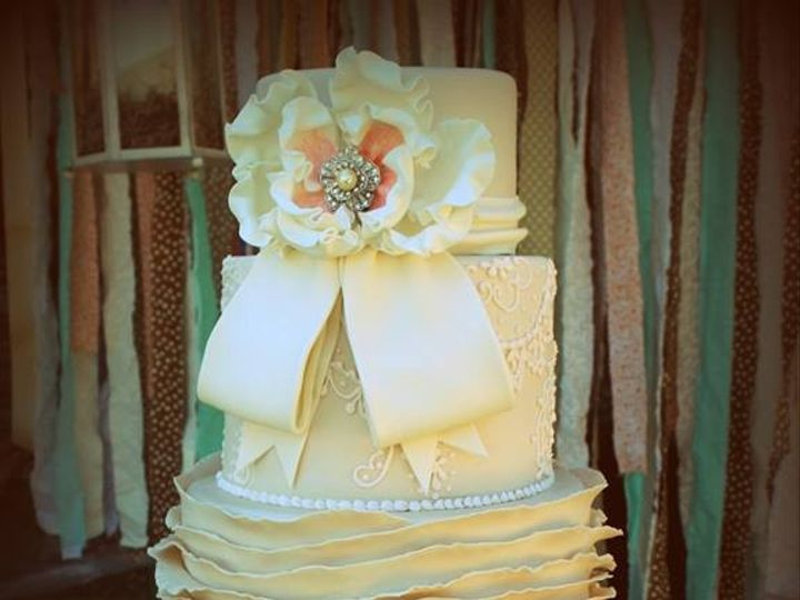 Tmx 1376332255211 99969110151783910603664782737456n Fresno, CA wedding cake