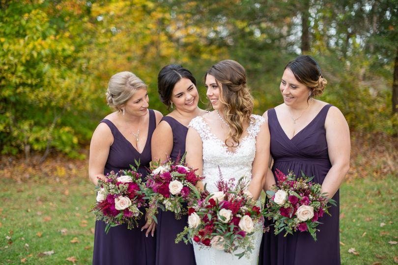 Zanya Bridal Party 10.25.19