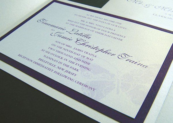Tmx 1267111597660 202473104236419663061690069664518401350817n East Brunswick wedding invitation