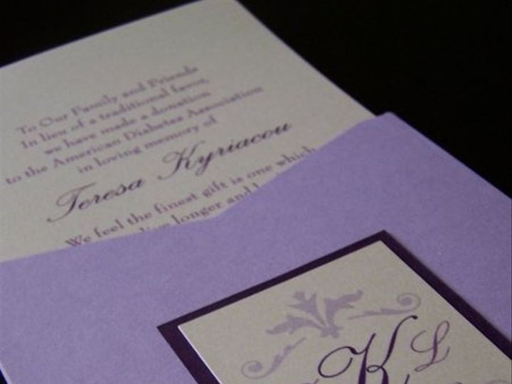 Tmx 1267111603129 2024731166610196630616900696645214767561139n East Brunswick wedding invitation
