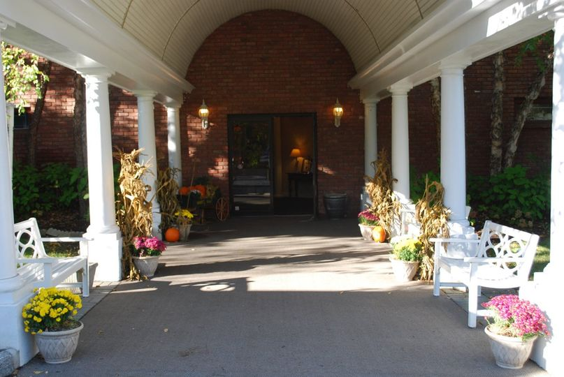 Entrance to the venue