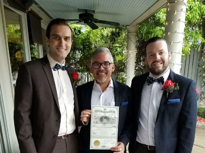 Tmx Chris Nick With Dewayne 51 43226 Deer Park, TX wedding officiant