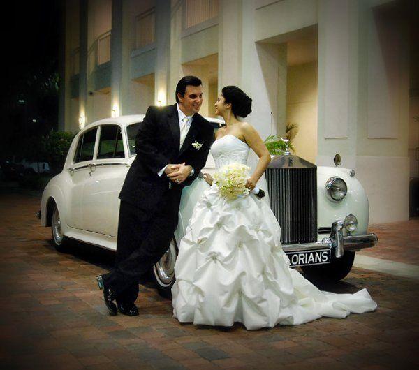 Tmx 1312896646234 FloriansClassicsWhiteRR Miami, FL wedding transportation