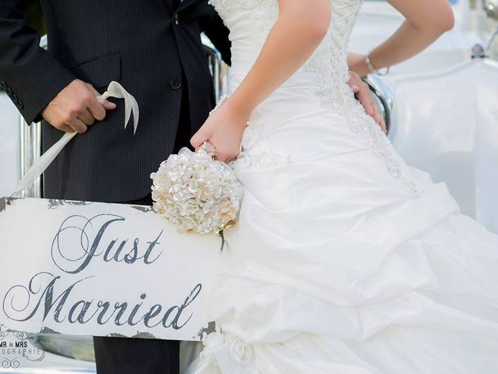 Tmx 1405029059392 Justmarriedsign Miami, FL wedding transportation