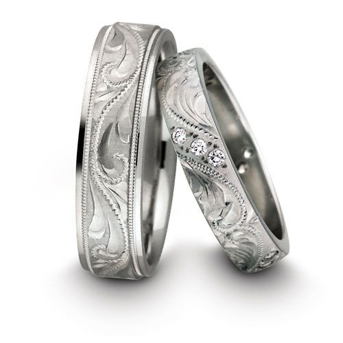 Tmx 1453315294616 Haqaiian Carved Rings Issaquah wedding jewelry