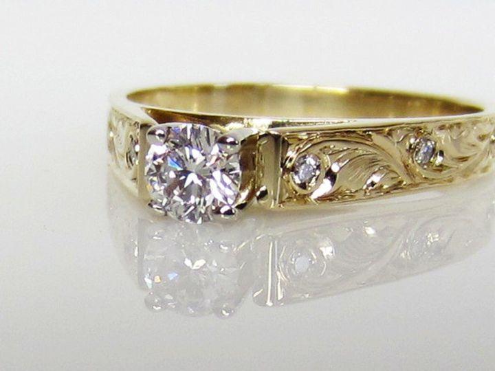 Tmx 1453315431017 Hawaiian Dia Eng Ring Issaquah wedding jewelry