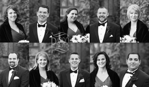 The Ledges - Hopedale, MA I love getting individual portraits of the whole bridal party.