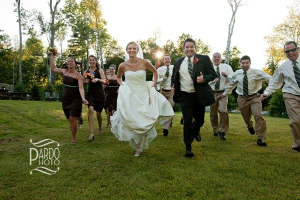 Camp Manitou, Maine Fun loving wedding parties are my specialty!