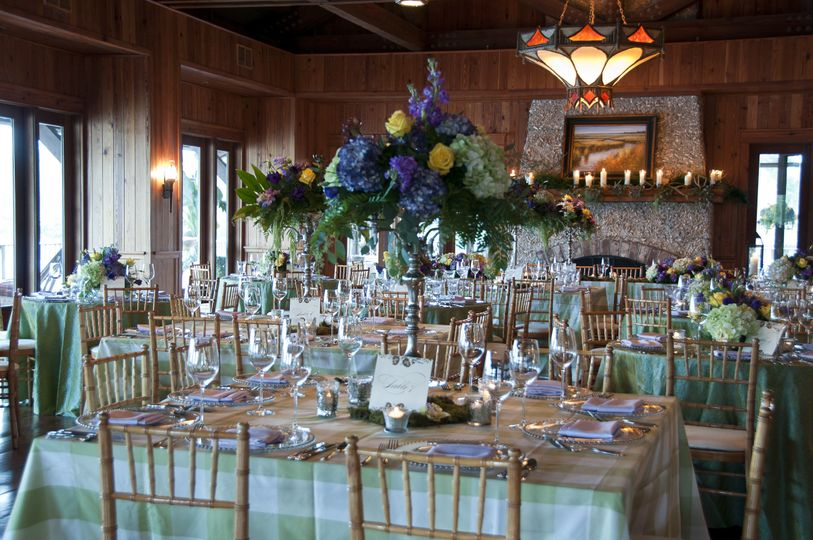 Frederica Boathouse is a light filled reception space on St Simons Island