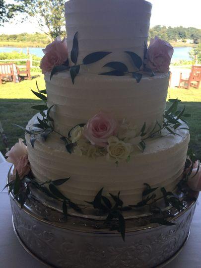 Floral design cake