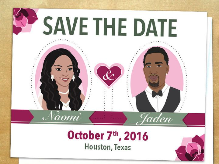 Tmx 1423707972352 Erica Marketing Instagram 01 Forest Hills wedding invitation