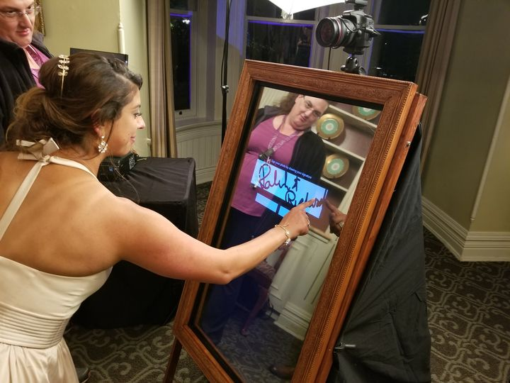 Signing the Magic Mirror