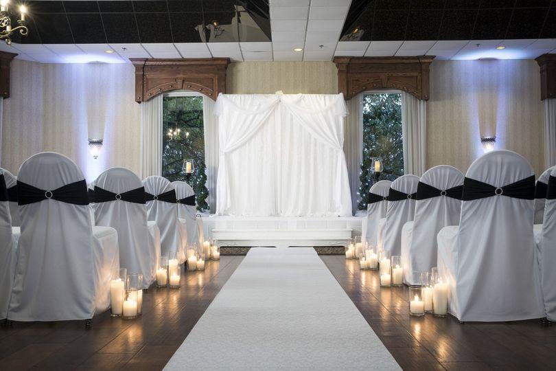 Traditional indoor ceremony