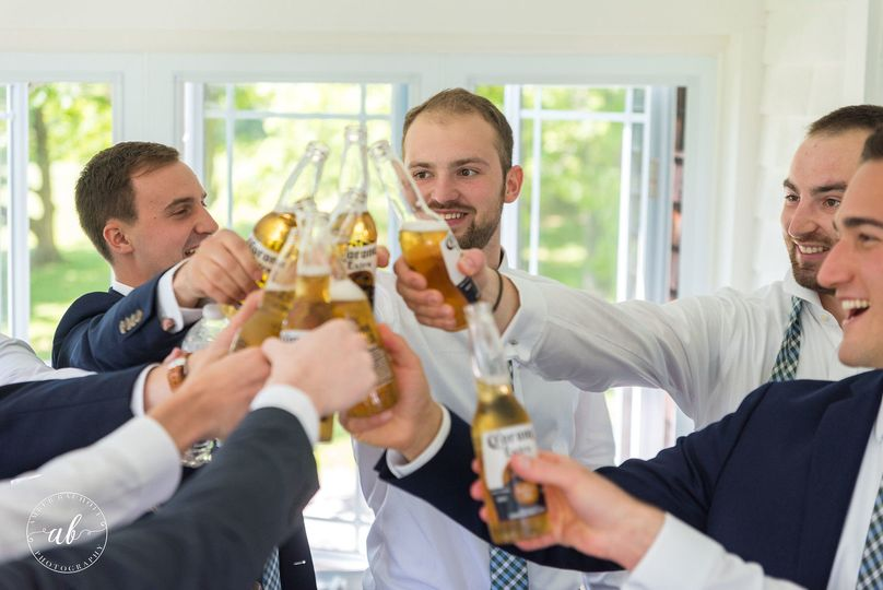 Toast to the groom