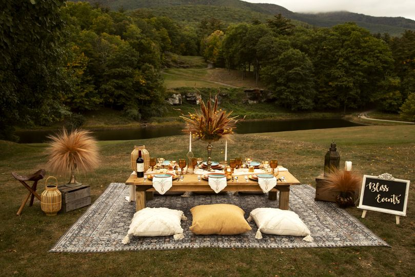 Luxury Picnic by Bliss Events
