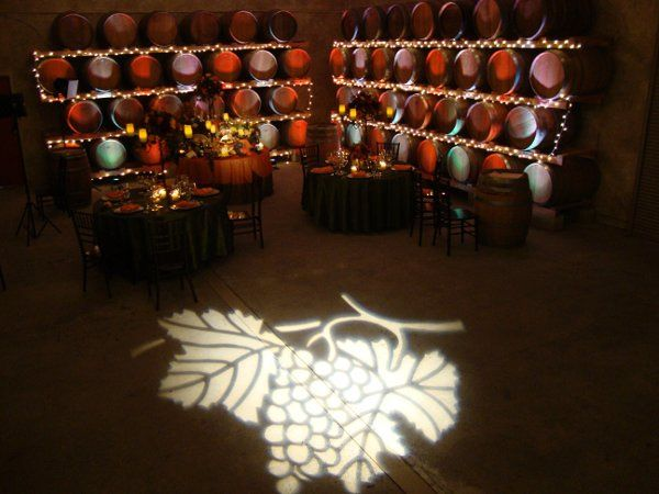 Up Lighting with Gobo Projection