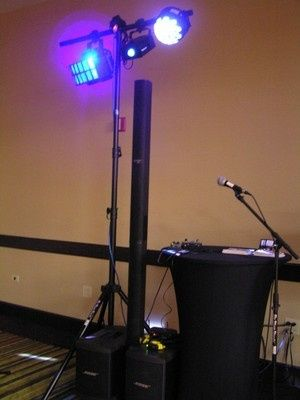 DJ lightning equipment