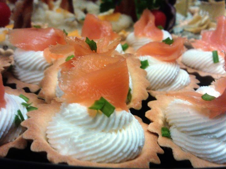 Tmx 1498169986532 Smoked Salmon And Goat Cheese Tartlets Savannah wedding catering
